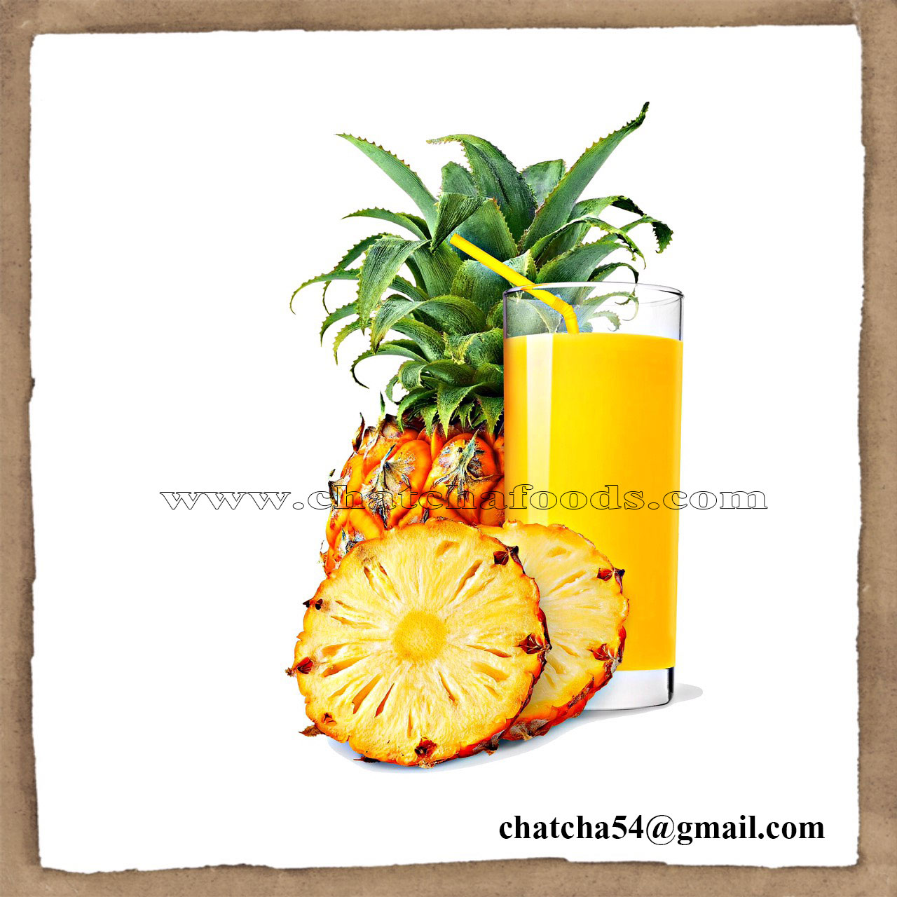Aseptic pineapple juice concentrate 65 brix