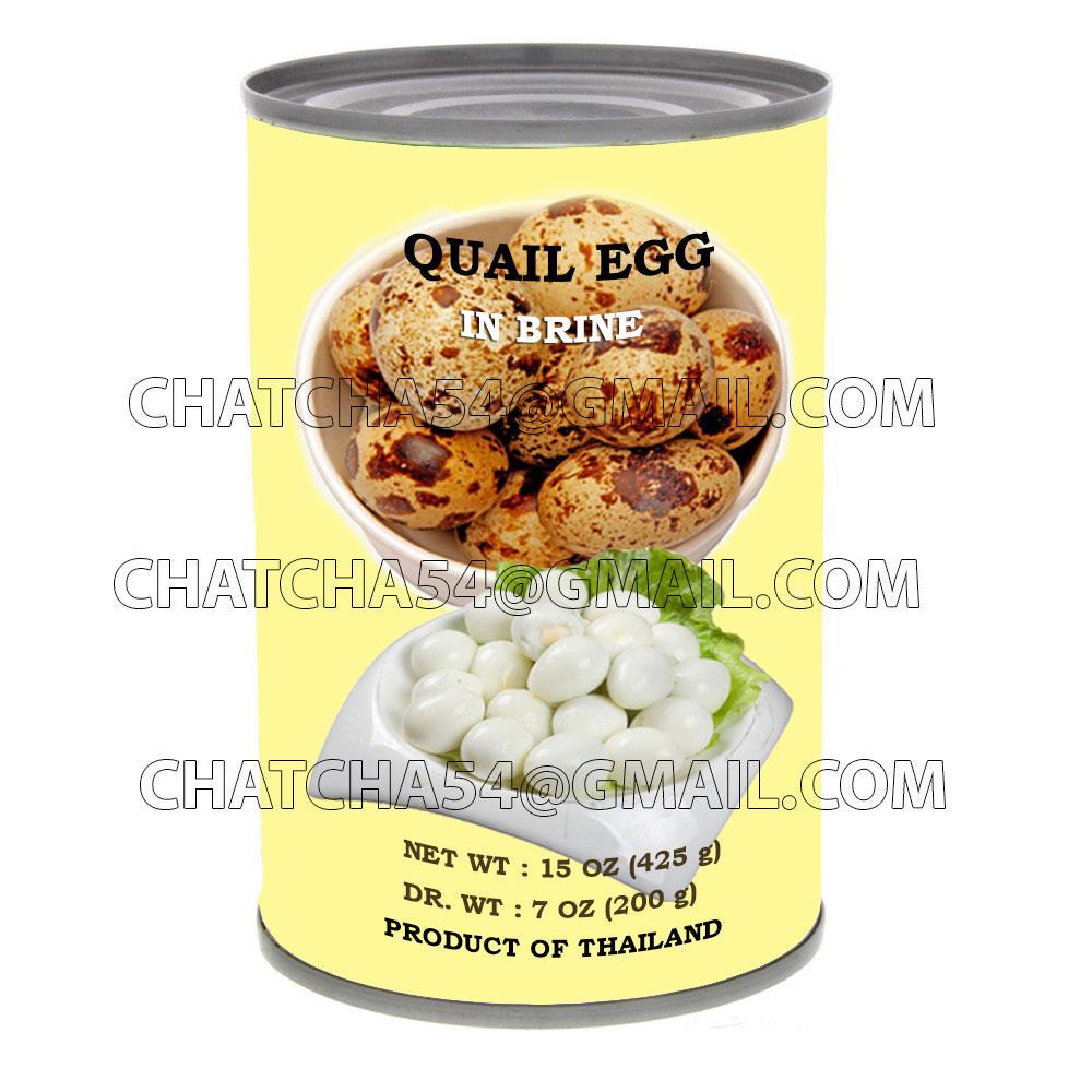 Quail Eggs in brine